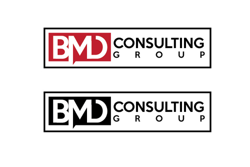 BMD Consulting Group A Logo, Monogram, or Icon  Draft # 18 by TheTanveer