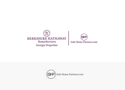 Berkshire Hathaway Home Services Logo + Gale Home Partners.com A Logo, Monogram, or Icon  Draft # 69 by dilipkumar-445