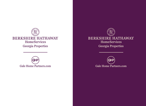 Berkshire Hathaway Home Services Logo + Gale Home Partners.com A Logo, Monogram, or Icon  Draft # 71 by dilipkumar-445