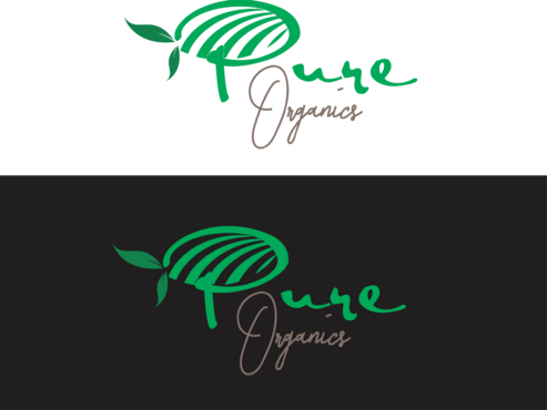 Pure Organics  A Logo, Monogram, or Icon  Draft # 53 by IlhamPatapangDesign