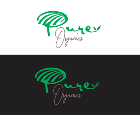 Pure Organics  A Logo, Monogram, or Icon  Draft # 54 by IlhamPatapangDesign