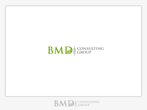 BMD Consulting Group A Logo, Monogram, or Icon  Draft # 91 by B4BEST