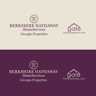 Berkshire Hathaway Home Services Logo + Gale Home Partners.com A Logo, Monogram, or Icon  Draft # 75 by FiddlinNita