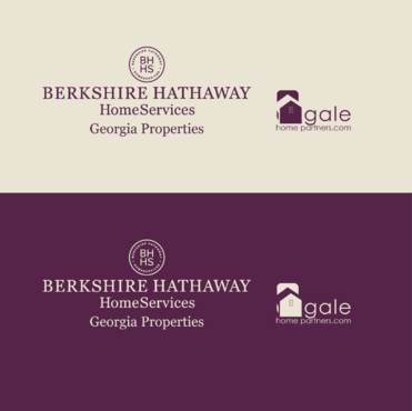 Berkshire Hathaway Home Services Logo + Gale Home Partners.com A Logo, Monogram, or Icon  Draft # 77 by FiddlinNita