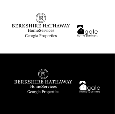 Berkshire Hathaway Home Services Logo + Gale Home Partners.com A Logo, Monogram, or Icon  Draft # 78 by FiddlinNita