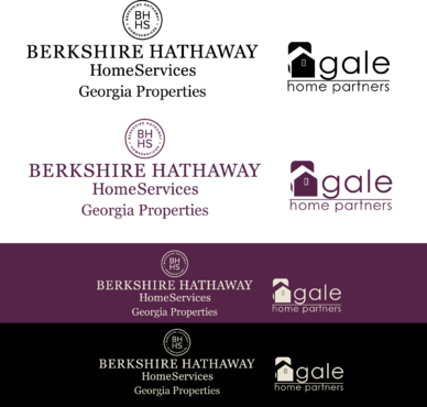 Berkshire Hathaway Home Services Logo + Gale Home Partners.com A Logo, Monogram, or Icon  Draft # 79 by FiddlinNita