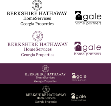 Berkshire Hathaway Home Services Logo + Gale Home Partners.com A Logo, Monogram, or Icon  Draft # 80 by FiddlinNita