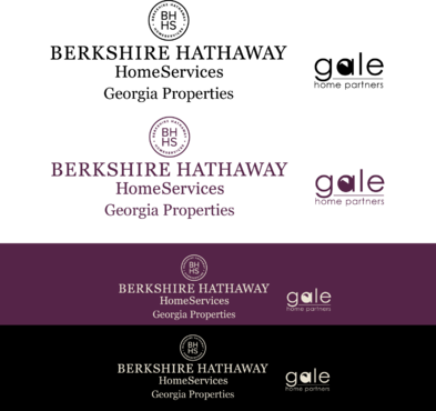 Berkshire Hathaway Home Services Logo + Gale Home Partners.com A Logo, Monogram, or Icon  Draft # 81 by FiddlinNita