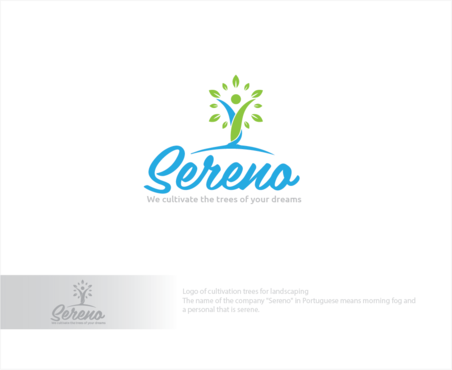 Sereno A Logo, Monogram, or Icon  Draft # 3 by logoGamerz
