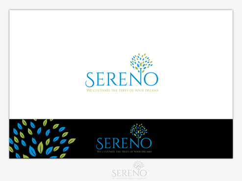 Sereno A Logo, Monogram, or Icon  Draft # 5 by B4BEST