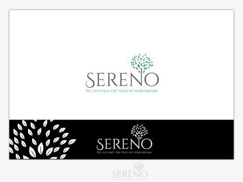 Sereno A Logo, Monogram, or Icon  Draft # 6 by B4BEST