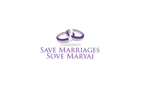 Save Marriages       Sove Maryaj (this is the same in another language, I want logo in 2 languages) A Logo, Monogram, or Icon  Draft # 5 by TheTanveer