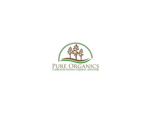 Pure Organics  A Logo, Monogram, or Icon  Draft # 101 by BloomingLogo