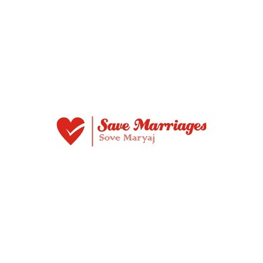 Save Marriages       Sove Maryaj (this is the same in another language, I want logo in 2 languages) A Logo, Monogram, or Icon  Draft # 28 by Atturusi