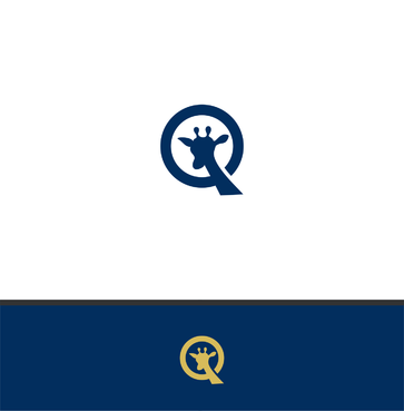 "Single Letter ""Q"" with a giraffe A Logo, Monogram, or Icon  Draft # 179 by bwnpdesigns"