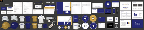 Augusta International Business Cards and Stationery Winning Design by einsanimation
