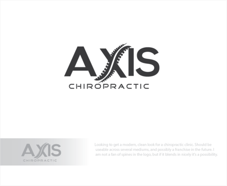 Axis Chiropractic A Logo, Monogram, or Icon  Draft # 31 by logoGamerz