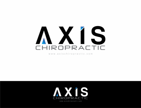 Axis Chiropractic A Logo, Monogram, or Icon  Draft # 171 by HandsomeRomeo