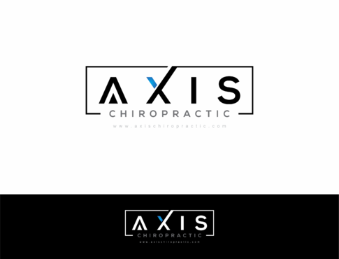 Axis Chiropractic A Logo, Monogram, or Icon  Draft # 217 by HandsomeRomeo