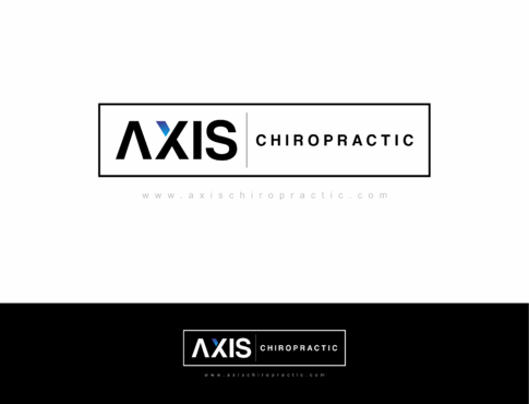 Axis Chiropractic A Logo, Monogram, or Icon  Draft # 265 by HandsomeRomeo