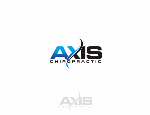 Axis Chiropractic Logo Winning Design by mohtar
