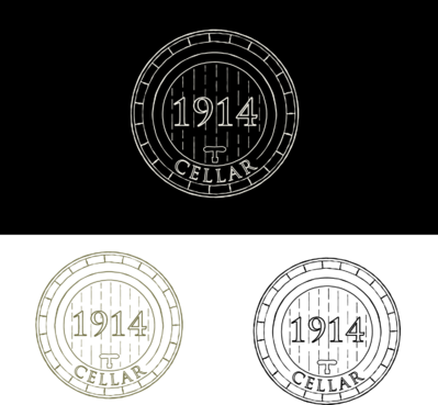 Cellar 1914 A Logo, Monogram, or Icon  Draft # 89 by FiddlinNita