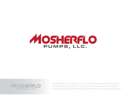 Mosherflo Pumps, LLC. A Logo, Monogram, or Icon  Draft # 2 by logoGamerz
