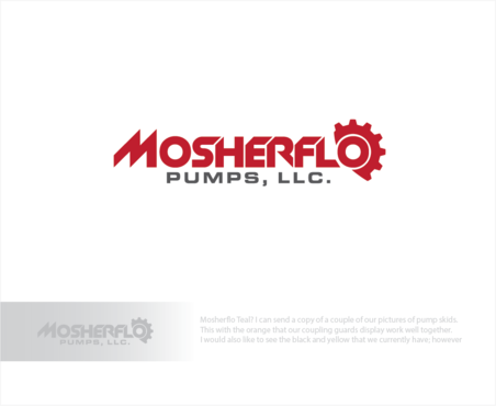 Mosherflo Pumps, LLC. A Logo, Monogram, or Icon  Draft # 3 by logoGamerz