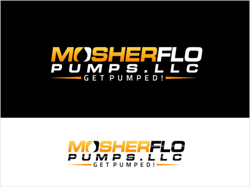 Mosherflo Pumps, LLC. A Logo, Monogram, or Icon  Draft # 5 by thebullet