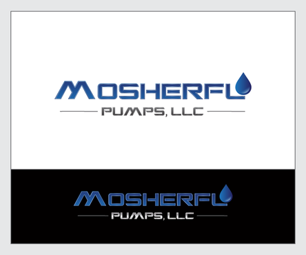Mosherflo Pumps, LLC. A Logo, Monogram, or Icon  Draft # 6 by emzbeautyart