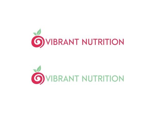 Vibrant Nutrition A Logo, Monogram, or Icon  Draft # 92 by crossdesain