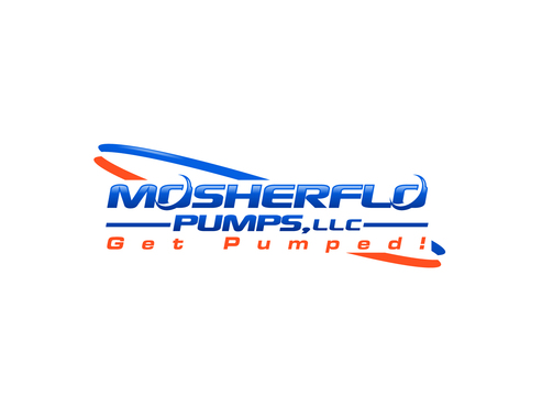 Mosherflo Pumps, LLC. A Logo, Monogram, or Icon  Draft # 10 by A78design
