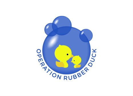 Operation Rubber Duck Logo Winning Design by Powerup