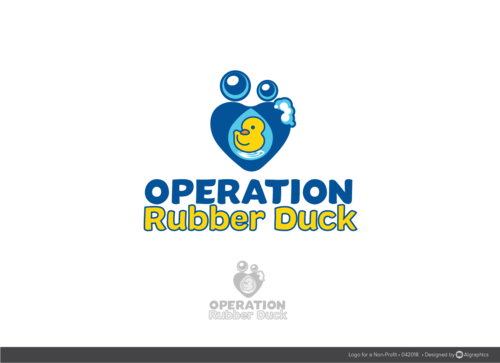 Operation Rubber Duck A Logo, Monogram, or Icon  Draft # 26 by ALgraphics