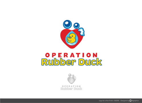 Operation Rubber Duck A Logo, Monogram, or Icon  Draft # 27 by ALgraphics