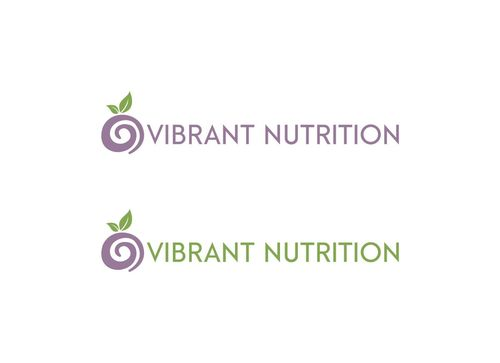 Vibrant Nutrition A Logo, Monogram, or Icon  Draft # 151 by crossdesain