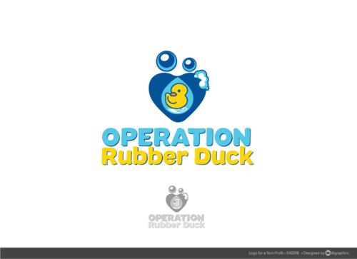 Operation Rubber Duck A Logo, Monogram, or Icon  Draft # 28 by ALgraphics
