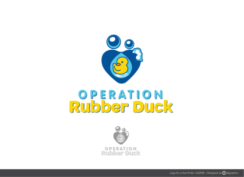 Operation Rubber Duck A Logo, Monogram, or Icon  Draft # 29 by ALgraphics