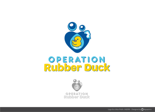 Operation Rubber Duck A Logo, Monogram, or Icon  Draft # 30 by ALgraphics