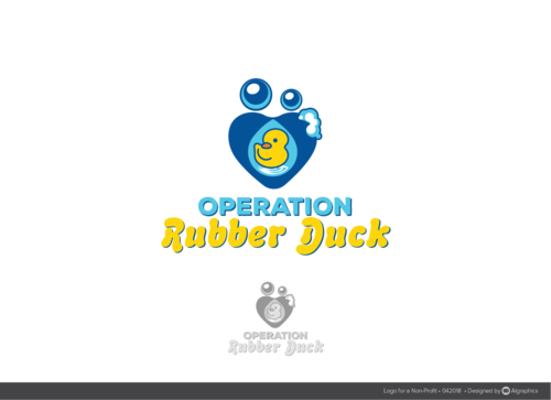 Operation Rubber Duck A Logo, Monogram, or Icon  Draft # 31 by ALgraphics