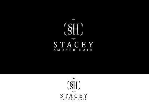 """Stacey Smoker Hair"" or ""S2"" (like S^2, S to the 2nd power, S squared speaks to the SS in my name) A Logo, Monogram, or Icon  Draft # 11 by Adwebicon"