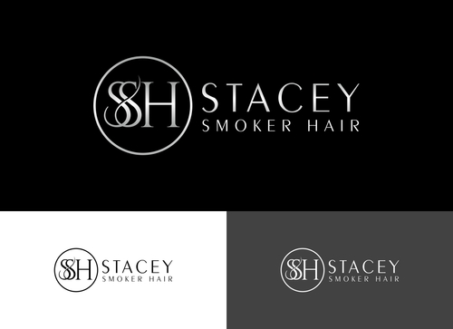 """Stacey Smoker Hair"" or ""S2"" (like S^2, S to the 2nd power, S squared speaks to the SS in my name) A Logo, Monogram, or Icon  Draft # 14 by Adwebicon"