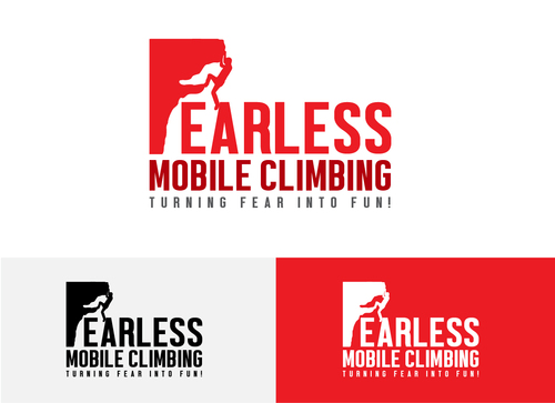 Fearless Mobile Climbing A Logo, Monogram, or Icon  Draft # 17 by Adwebicon
