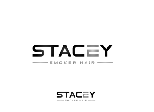 """Stacey Smoker Hair"" or ""S2"" (like S^2, S to the 2nd power, S squared speaks to the SS in my name) A Logo, Monogram, or Icon  Draft # 17 by zameen"