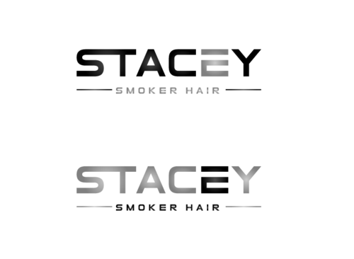 """Stacey Smoker Hair"" or ""S2"" (like S^2, S to the 2nd power, S squared speaks to the SS in my name) A Logo, Monogram, or Icon  Draft # 19 by zameen"