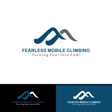 Fearless Mobile Climbing A Logo, Monogram, or Icon  Draft # 19 by vanilogos