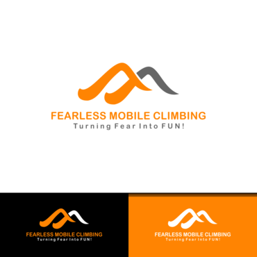 Fearless Mobile Climbing A Logo, Monogram, or Icon  Draft # 20 by vanilogos