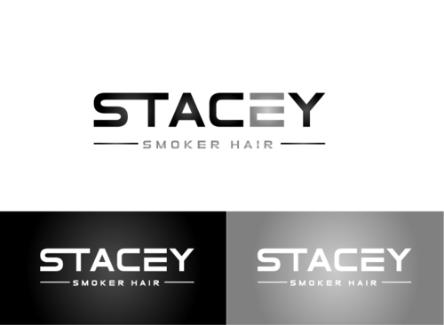 """Stacey Smoker Hair"" or ""S2"" (like S^2, S to the 2nd power, S squared speaks to the SS in my name) A Logo, Monogram, or Icon  Draft # 21 by zameen"