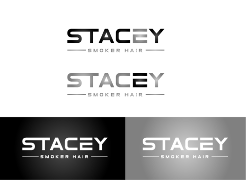 """Stacey Smoker Hair"" or ""S2"" (like S^2, S to the 2nd power, S squared speaks to the SS in my name) A Logo, Monogram, or Icon  Draft # 22 by zameen"