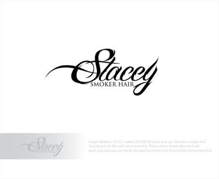 """Stacey Smoker Hair"" or ""S2"" (like S^2, S to the 2nd power, S squared speaks to the SS in my name) A Logo, Monogram, or Icon  Draft # 32 by logoGamerz"